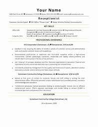 A Good Resume Example Unique Skill Set Resume Examples Unique
