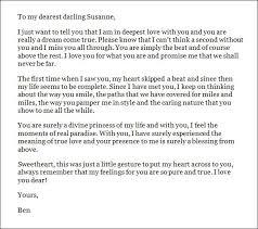 Sample Love Letter To Her Love Letter Examples Love