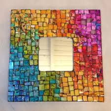 unique round glass tiles for crafts 403 best mosaic frames images on mosaic
