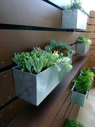 metal wall hanging planters hanging planter boxes metal wall hanging planters metal hanging planter box horizontal