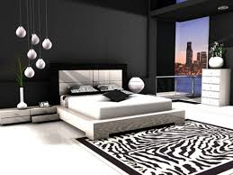black and white bedroom decor. Chic Black And White Bedrooms Theme Ideas Bedroom Decor