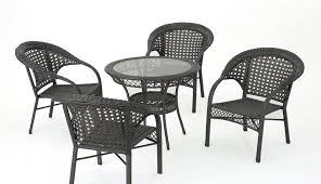 garden glass shattering set parts round outdoor exploding metal table homebase seater argos smashed chairs tables