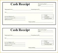 Free Printable Receipt Forms Pdf Blank Receipts Templates Template