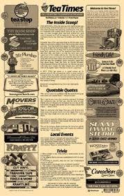 2 Page Newspaper Template Adobe Illustrator 11x17 Inch