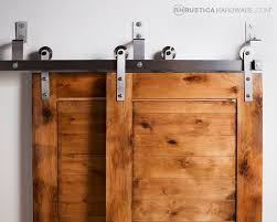 bypass barn door hardware is great system for tight spaces s rusticahardware