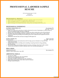Sample Profile For Resume Template Resume Profile Section What To Write Examples Functional On 18