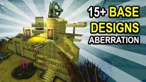 Ark Pve Base Designs Ark 15 Base Design Ideas Aberration Base Showcases Ark