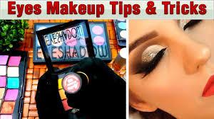 quick eye makeup tips tricks for newbies brush eye pellets tutorial step by step urdu hindi