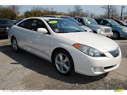 2005 Toyota Solara SLE V6 Coupe in Arctic Frost Pearl White photo ...