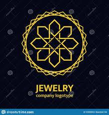 golden jewelry ic logo design luxury gold emblem brand or pany name elegant round fl icon for jewelry salon boutique cosmetics