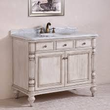 antique white bathroom cabinets. antique 47 inch white finish bathroom vanity, marble top cabinets m