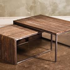 lath nesting coffee tables