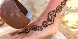 Opatrně Na Tetování Henou U Dětí Oblíbený Suvenýr Z Dovolené Může