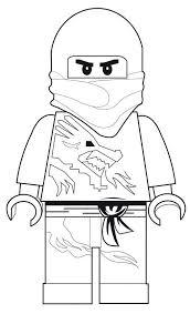 Ninjago Jay Ausmalbild Das Beste Von Kids N Fun Stock Kinder Bilder
