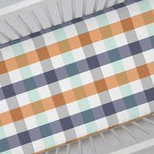 teddy bear crib sheets aqua and orange baby bedding grey chevron cot sheets blue and orange baby room