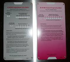 R 410a Superheat Subcooling Calculator Charging Chart N 736902510971 Ebay