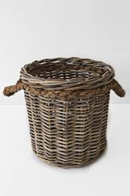 Large wicker basket Grey S806770325102305418p614i8w1916jpeg The Home Depot Aero Home Large Wicker Basket With Rope Handles X118