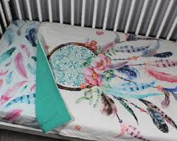 Dream Catcher Crib Bedding Dreamcatcher Bedding Etsy 26