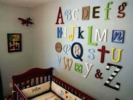 wall decoration for nursery letters wall decor ideas nursery wall decoration nursery