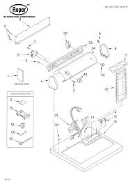 Roper dryer parts model rex5634kq1 sears partsdirect rh searspartsdirect ge dryer belt routing diagram dryer belt replacement diagram