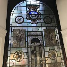 stained glass at no 35 stonegate york