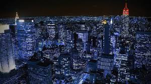 Blue Night City Wallpapers on WallpaperDog