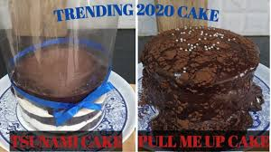 Bakers from all over the world are getting in on this cake trend and getting super creative when it comes to. Chocolate Tsunami Cake Bolo Tsunami Cake 2020 Pull Me Up Cake Recipe Trending 2020 Cake Youtube