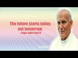 Pope John Paul Ii Quotes Impressive Pope John Paul II Quotes YouTube