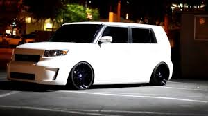 Snowflake Scion xB on DPE Wheels - YouTube