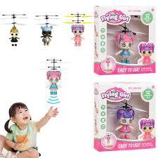 <b>Cute</b> Surprise Doll <b>Girls</b> USB Charging Flying <b>Induction</b> Control Toys ...