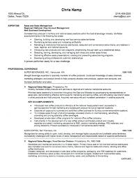 Resume Template 2017 Fascinating 60 Sales Resume Samples Hiring Managers Will Notice