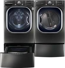 black washer and dryer. LG Main Image Black Washer And Dryer L