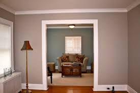 Superb Design Of The Paint Color With Brown Woodn Floor Ideas Added With  White Ceiling Ideas