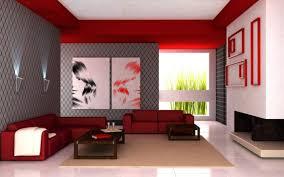 red living room interior design ideas 2