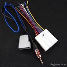 feeldo car cd audio stereo wiring harness antenna adapter for jvc wiring harness diagram at Wiring Harness Stereo