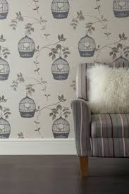 Buy Birdcage Natural Wallpaper from the Next UK online shop