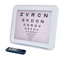 Details About Snellen Logmar Vision Test Chart C 901