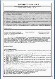 Resume Formats Experienced Professional Resume Cv Maker