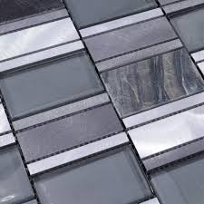 Metal Kitchen Wall Tiles Beautiful Metal Glass Tile For Bathroom Wall Tiles And Kitchen