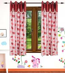Designer Curtains Flipkart Gaurav Curtains 152 4 Cm 5 Ft Polyester Window Curtain