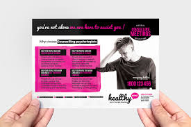 Flyer Formats Mental Health Flyer Template In Psd Ai Vector Brandpacks