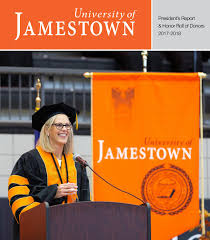 President's Report 2018 by University of Jamestown - issuu
