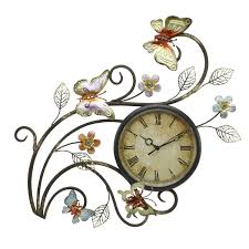 Metal Wall Decor For Kitchen Awesome Metal Art Wall Clock 79 Metal Wall Art Clock Abstract