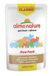 <b>Almo nature Cat Classic</b> Raw Pack Pechuga de Pollo