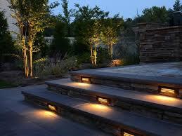 home diy outdoor lighting step