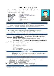 Resume Samples 2017 Enchanting Curriculum Vitae Download In Ms Word Resume Samples 60 Cv Format