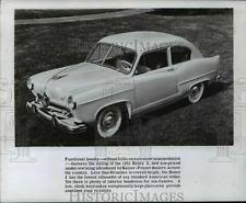 1950 henry j 1950 press photo the 1951 kaiser frazer henry j cvb68741