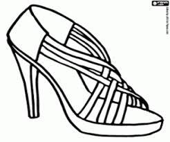 Kleurplaten Schoenen Vrouwen Schoenen Kleurplaat Kleurplaten Voor