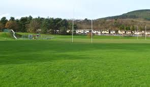 children s play area and a rugby pitch maesteg