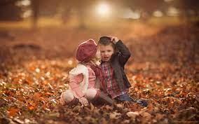 Cute Baby Girl and Boy Kissing HD ...